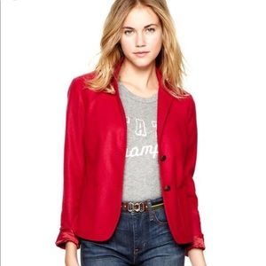 Gap Red The Academy Blazer size 4